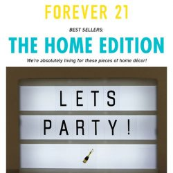 [FOREVER 21] WE ❤️ HOME