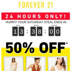 [FOREVER 21] S is for...
