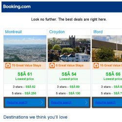 [Booking.com] Montreuil, Croydon, or Ilford? Get great deals, wherever you want to go