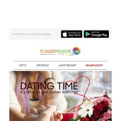 [Floweradvisor] Is it time to meeting up that girl from online dating site? You NEED this!