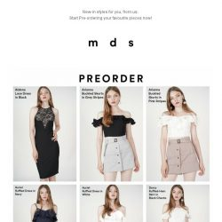 [MDS] ALL NEW | Arriving Soon