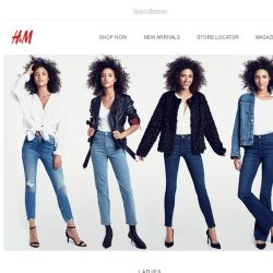 [H&M] The Denim Style Guide