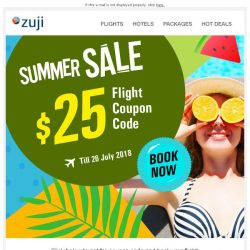 [Zuji] BQ.sg: $25 OFF your flight, it's that easy!