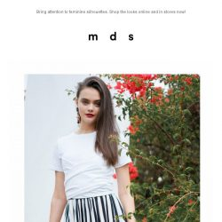 [MDS] The New Accentuates| Launched Online and In-Stores