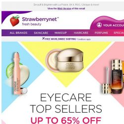 [StrawberryNet] Eyes on the PRIZE: Eyecare Top Sellers Up to 65% Off