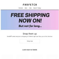 [Farfetch] The trends we're backing now + Free Shipping continues