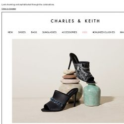[Charles & Keith] Shop our festive collection in time for Eid-Al-Adha