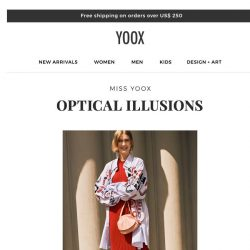 [Yoox] Miss YOOX: bold prints and multicolored patterns
