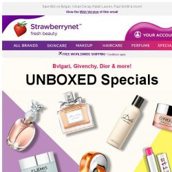 [StrawberryNet] Unboxed Specials Up to 70% Off!