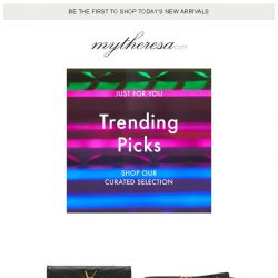 [mytheresa] Friday favorites: this week's picks, just for you