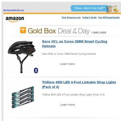 [Amazon] Save 50% on Coros OMNI Smart Cycling Helmets