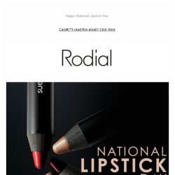 [RODIAL] Sealed With A Kiss: Suede Lips 💄