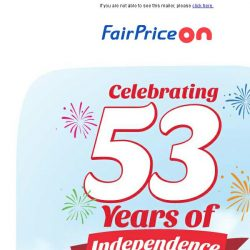 [Fairprice] Go local this National Day!
