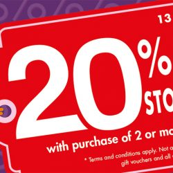 Times Bookstores: Enjoy 20% OFF Storewide with Purchase of 2 or More Items