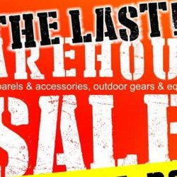 Outdoor Life: The Last Warehouse Sale with Up to 70% OFF Travel Apparels & Accessories, Outdoor Gears & Equipments