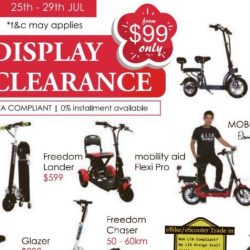 Mobot: Warehouse Display Clearance Sale with Up to 70% OFF Electric Scooters