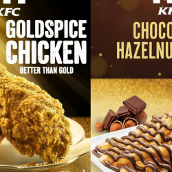 KFC: NEW KFC Goldspice Chicken & Chocolate Hazelnut Fries!