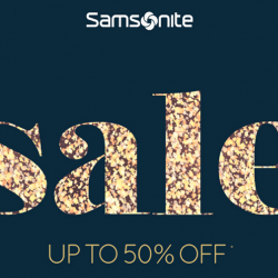 Samsonite: Great Singapore Sale with Up to 50% OFF Selected Luggage, Backpacks, Travel Accessories & More!