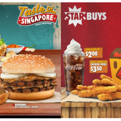 Burger King: The Rendang Burger & Hainanese Tendergrill™ Chicken Burger is Back + NEW Teh Tarik Pie!