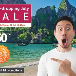 Jetstar: Jaw-Dropping Sale with Sale Fares to Taipei, Okinawa, Bali, Penang & More from SGD50!