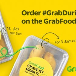 GrabFood: Get Durians Delivered to Your Door This Weekend!