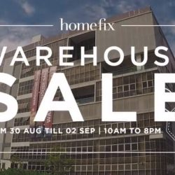 Home Fix: Warehouse Sale with Up to 70% OFF Nippon, Simplehuman, Vornado, Yale & Many More!