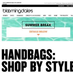 [Bloomingdales] Purse-onals: Find your best bag, plus save up to 75%