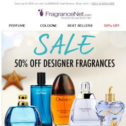 [FragranceNet] ✔ It's confirmed! We're inviting you to enjoy up to 80% off sitewide!