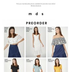 [MDS] New Styles You've Been Waiting For | Launched Online
