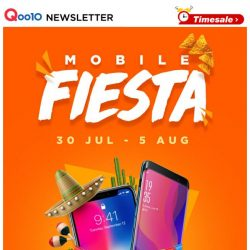 [Qoo10] Mobile Fiesta - Official Storewide Promotion! $89 OnePlue Shop Coupon! Grab It Now!