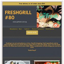 [GoFresh] GoFresh: Freshgrill #80 Love for food and those you invite to your table.