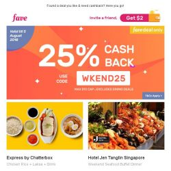 [Fave] Chatting about mom's food? Head to Express by Chatterbox!
