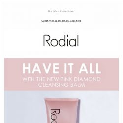 [RODIAL] New Launch: Melt The Day Away
