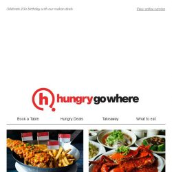 [HungryGoWhere] National Day Specials: Singapore Buffet Lunch at $53++ for 2, 2 crabs for $53++, and more!