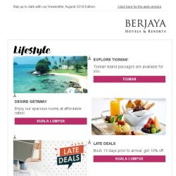 [Berjaya Hotels & Resorts EDm] Awesome August with Berjaya Hotels and Resorts!