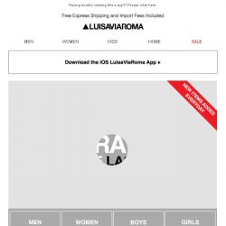 [LUISAVIAROMA] 25% off the LAST ONE…Things are heating up