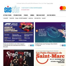 [SISTIC] Experience a Theatre Festival of Artful Play at M1 Patch!