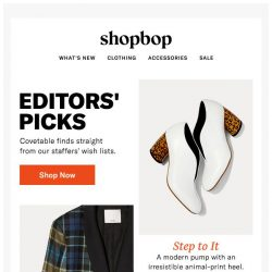 [Shopbop] 9 pieces we're buying up for fall