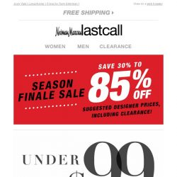 [Last Call] Designers you love UNDER $99