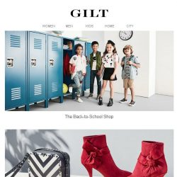 [Gilt] The Kids' Back-to-School Shop | Dsquared2 & More Men's Sneakers