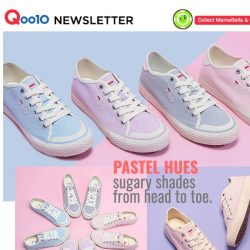 [Qoo10] Punchy Pastels 💖 Freshen Up Your Style with variety of colours!