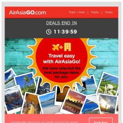 [AirAsiaGo] ⏰ We have pre-selected these package deals just for you. Check them out! ⏰