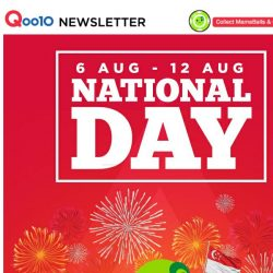 [Qoo10] 🎆 Our Nation, Our Electronics, Our Celebration Sale! Shop Now! 🎆
