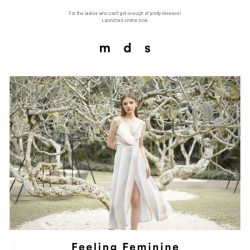[MDS] New Arrivals Launched Online!