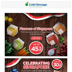 [Cold Storage] 🎈Flavours of Singapore & Grocery Deals for this weekend! 🎊