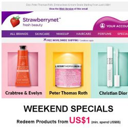 [StrawberryNet] , 🍬 US$1 Treats Make Weekends AWESOME