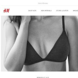 [H&M] Find your fit – our bra guide is here!