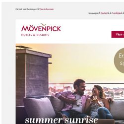 [Mövenpick Hotels & Resorts] Final Chance: Get 30% off your stay