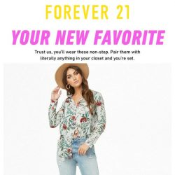 [FOREVER 21] this top is SO you!