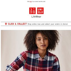[UNIQLO Singapore] Easy days with Flannel and EZY Jeans